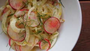 Fennel Radish Salad